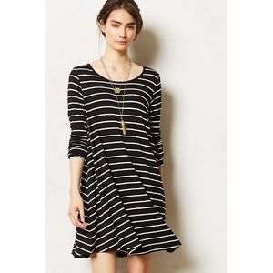 🆕 Anthropologie Savant Striped Swing Dress Size M